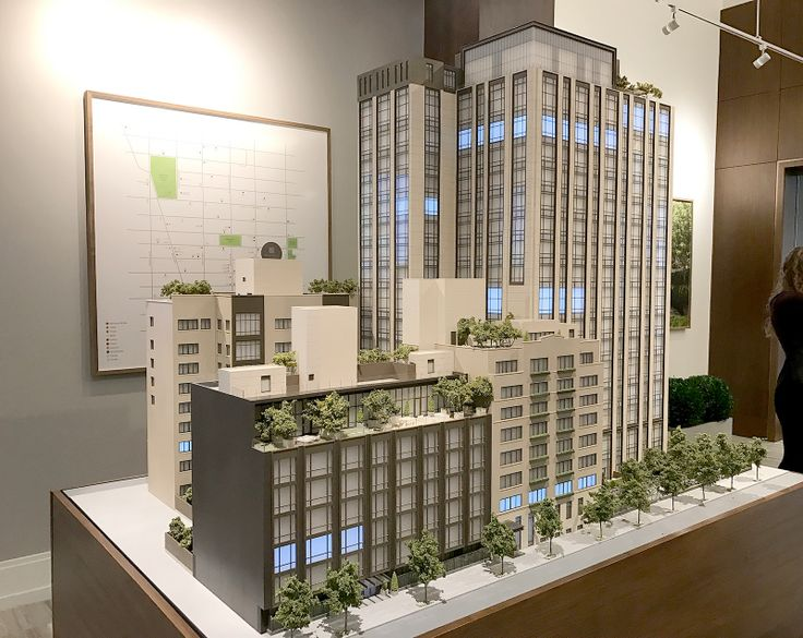 Model of Gramercy Square (CityRealty)
