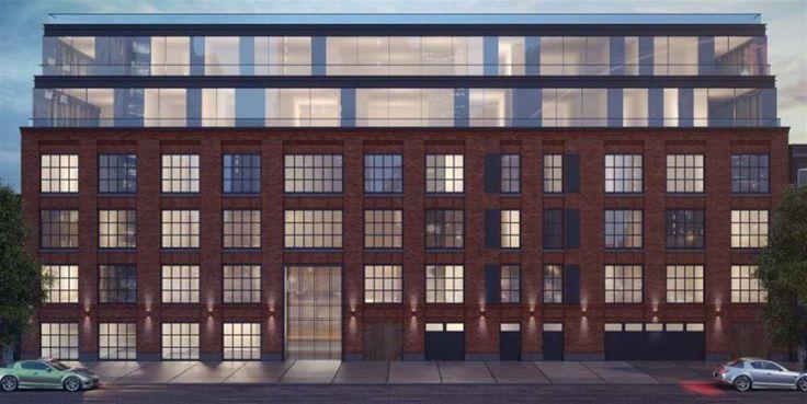 Rendering of The Grand McCarren via Grand Street Development