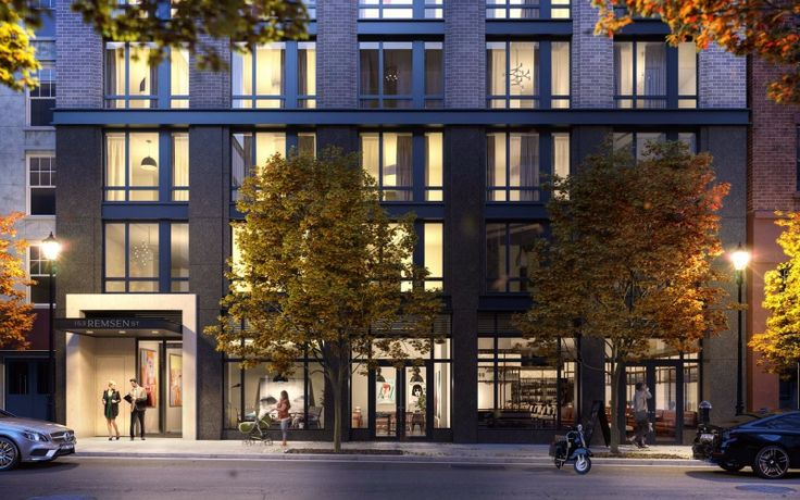 153 Remsen Street has launched leasing with 1 month free on 13-month leases. (Image via 153remsen.com)