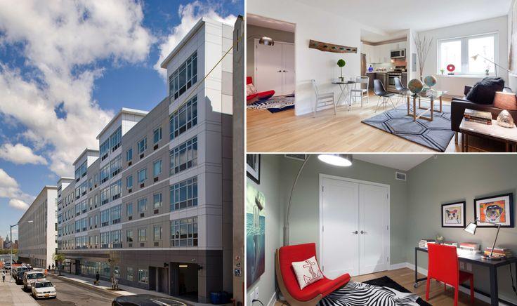 175 Kent Avenue in Williamsburg, images via Meltzer Housing Studio + Equity Residential