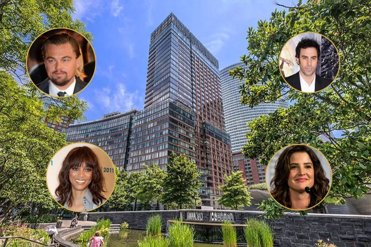 Leonardo DiCaprio, Tyra Banks, Sacha Baron Cohen, and Cobie Smulders have all called it home (2 River Terrace photo via Charles Rutenberg)