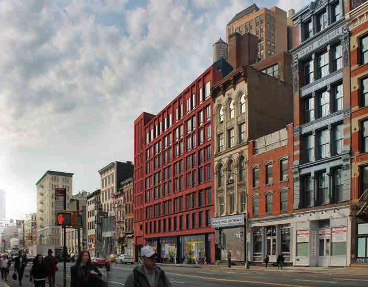 322 Canal Street rendering, credit: Paul A. Castrucci Architect