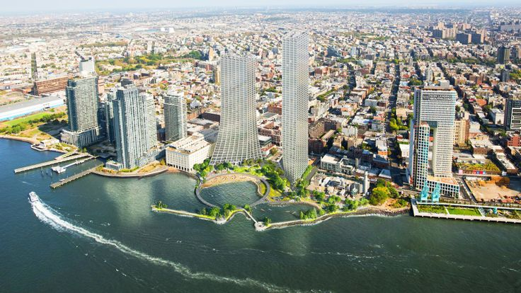 All renderings via Field Operations and Bjarke Ingels Group for Two Trees Management