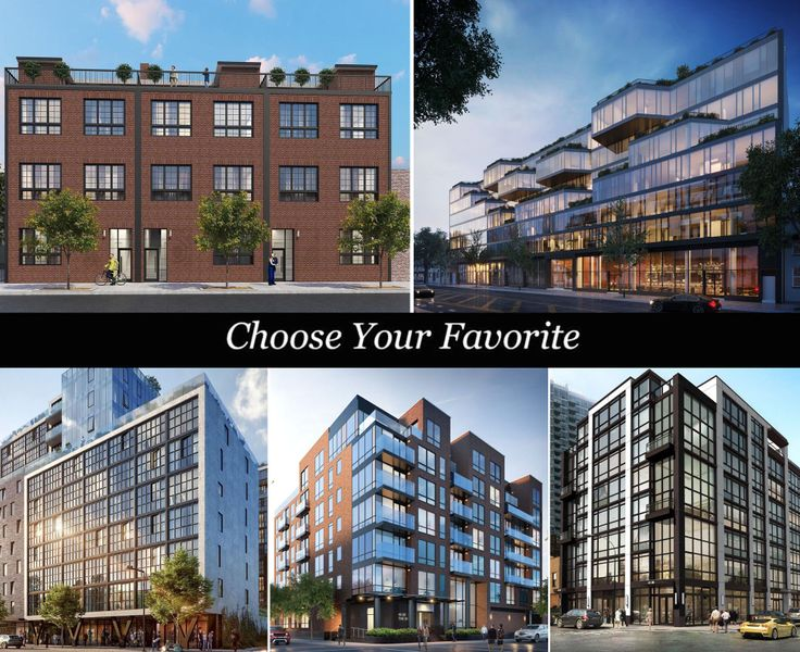 Which new condo would you choose?