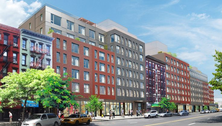 500 and 524 East 14th Street rendering via Beyer Blinder Belle