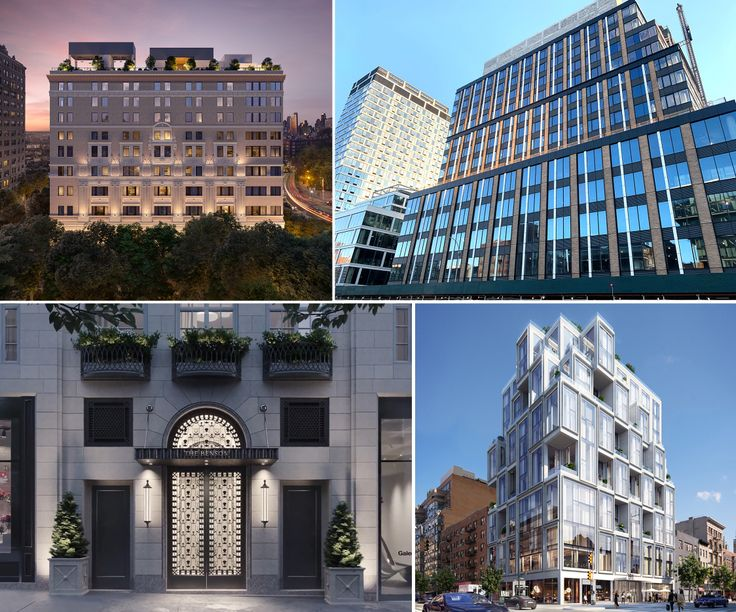 From Brooklyn to the Upper East Side, new developments are taking shape all over New York.