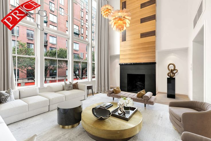 The asking price of this Tribeca townhouse has been reduced by 25% (Compass)