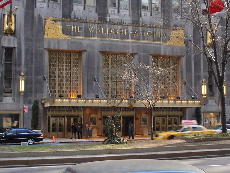 Waldorf Astoria via teka75 - Flickr