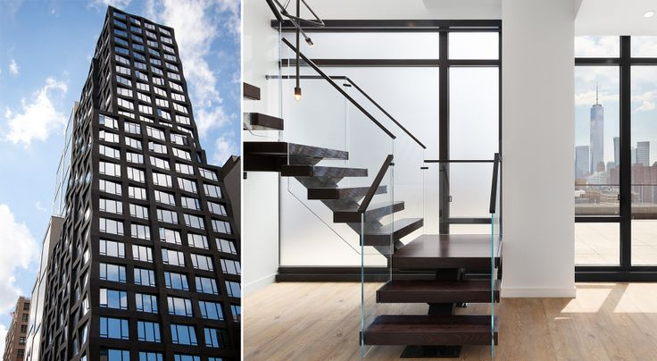 Duplex penthouse available at 111 Varick Street (Images via Hundred Stories)