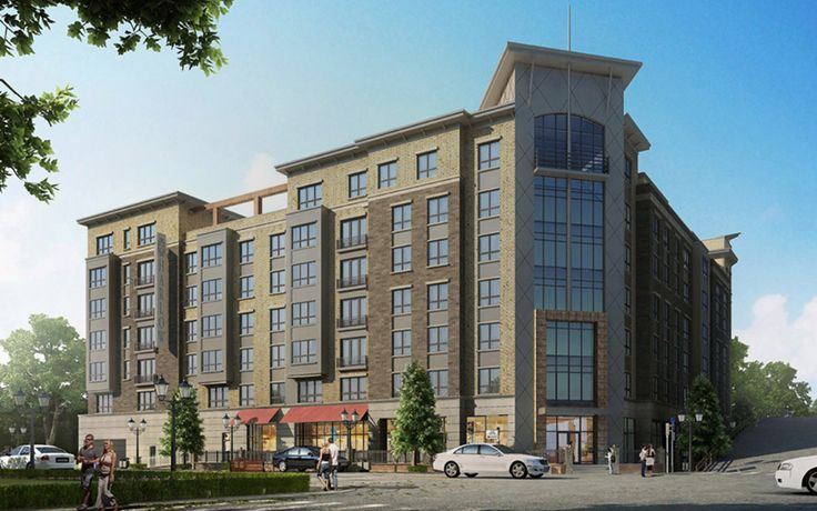 Harlow Hoboken brings 140 no-fee residences to Hoboken, now with one month free.