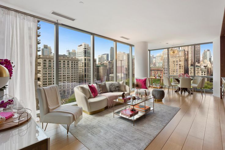 One Madison, #14A is in-contract and had an ask of $4.495M (Douglas Elliman)