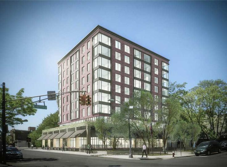 Rendering of 957 Broadway, via Jersey Digs