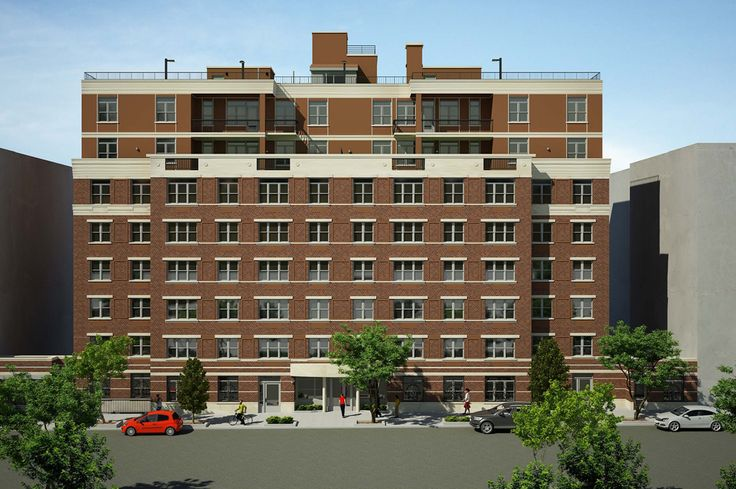 Rendering of the Parkadon Condominiums via  Housing Parnership