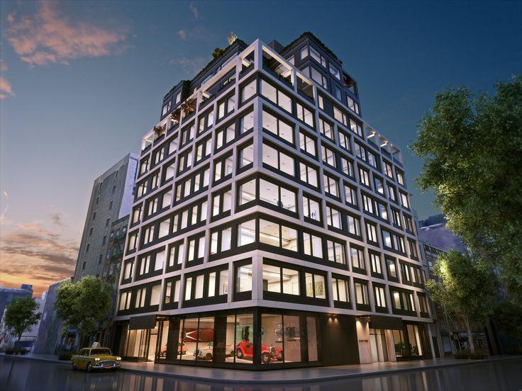 Rendering of 32 East 1st Street (AORE Holdings)