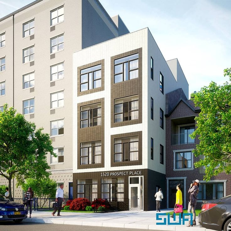 1520 Prospect Place rendering by Samuel Wieder Architects