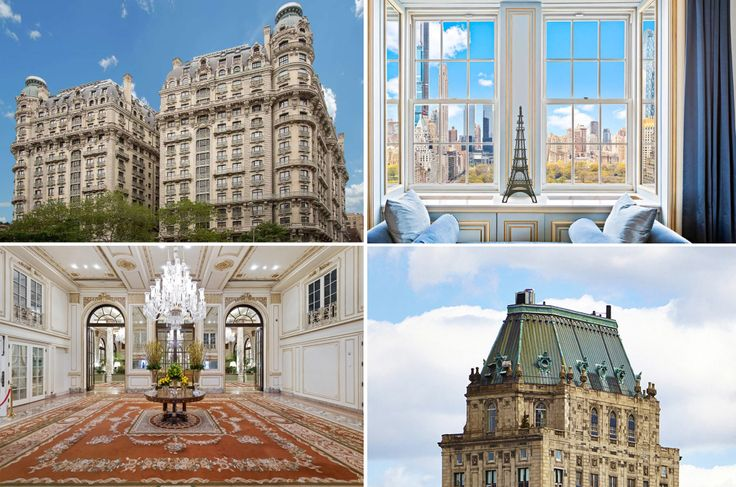 Beaux-Art and French-Renaissance-style buildings and spaces in NYC