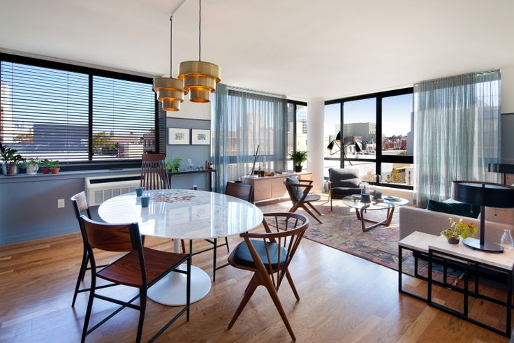 Inside the luxury rental building at 50 North 5th Street in Williamsburg. (Image via 50north5th.com)