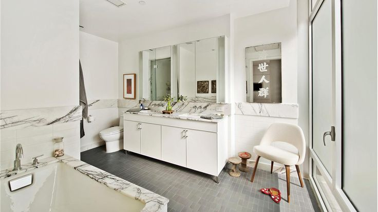 Bathroom, 520 West 19th Street, Condo, Manhattan, NYC