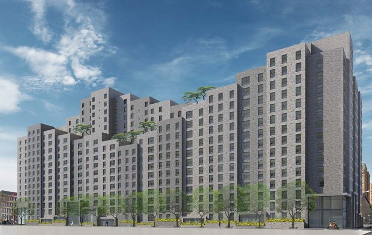 Lexington Gardens II will bring 400 units (some affordable) to East Harlem; Curtis + Ginsberg Architects
