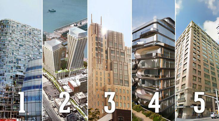 Top Five Buildings This Week in Chelsea