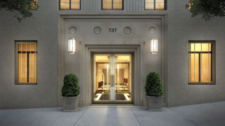 Entrance, 737 Park Avenue, Condo, Manhattan, NYC