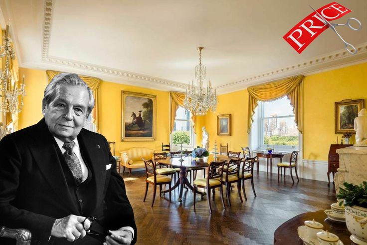 Harry Winston and his Fifth Avenue apartment