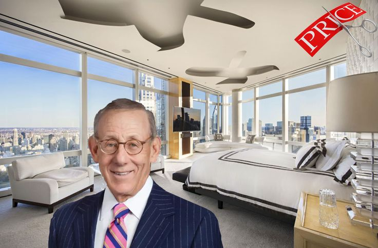 Stephen Ross via Miami Dolphins | Time Warner Center home via Evan Joseph/The Corcoran Group