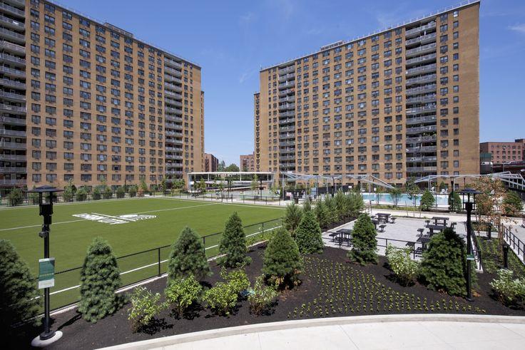 The LeFrak Organization reinvested $70 million at LeFrak City in new renovations and infrastucture upgrades. (Image via LeFrak Organization)