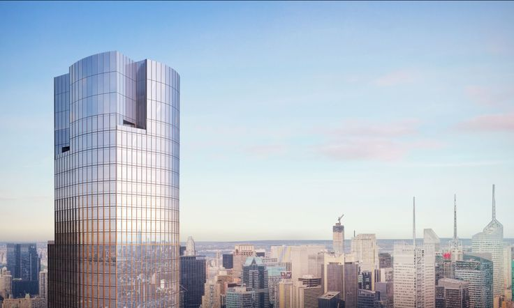 35 Hudson Yards has begun to rise at 500 West 33rd Street. It will top out at 72 floors.