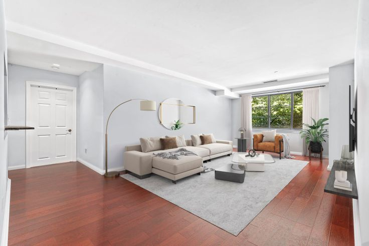 This roomy 2-bed at 1400 Fifth Avenue is available for $825K and has a maximum annual household income requirement of $298K.