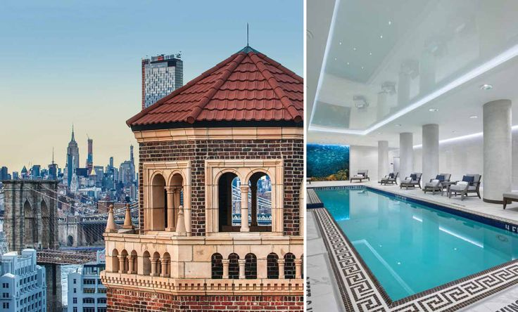 Brooklyn Heights' Leverich Towers Hotel has been transformed into a luxurious senior residence (The Watermark at Brooklyn Heights via Barry Hyman)