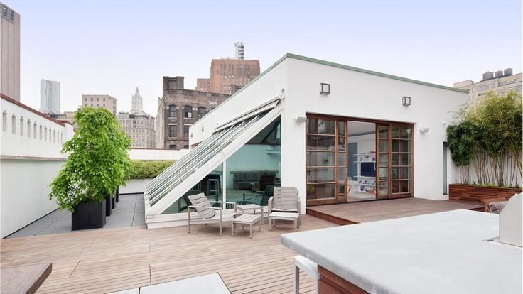 Terrace, 140 Franklin Street, Condo, Manhattan, NYC