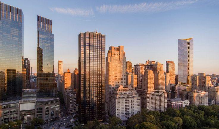 Snohetta's design for 50 West 66th Street in Manhattan???s Upper West Side. Courtesy of Binyan Studios and Extell Development