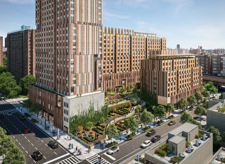 New renderings of Sendero Verde, the 100% affordable passive house project coming to East Harlem (All renderings courtesy of Handel Architects)
