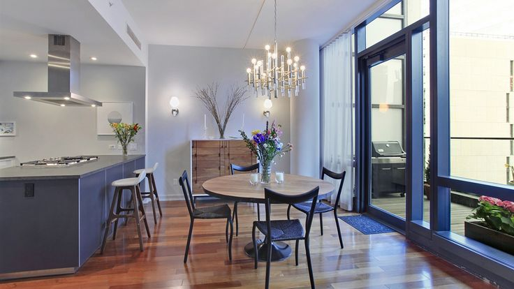 Diningroom, 101 Warren Street, Condo, Manhattan, NYC