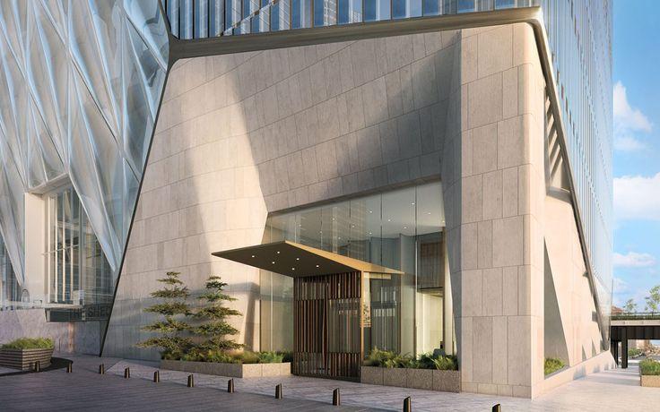 Condominium sales at 15 Hudson Yards began last week. Courtesy Related-Oxford