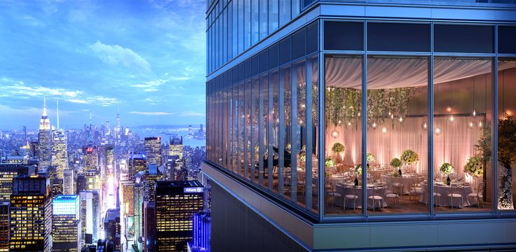 100th-floor ballroom that will be the highest in the world