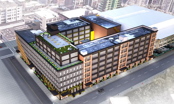 A rendering for the redevelopment of 40-09 21st Street in Long Island City (Image: Input Creative Studio)