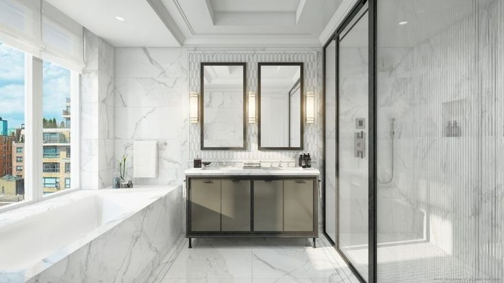 1010 Park Avenue Master Bath