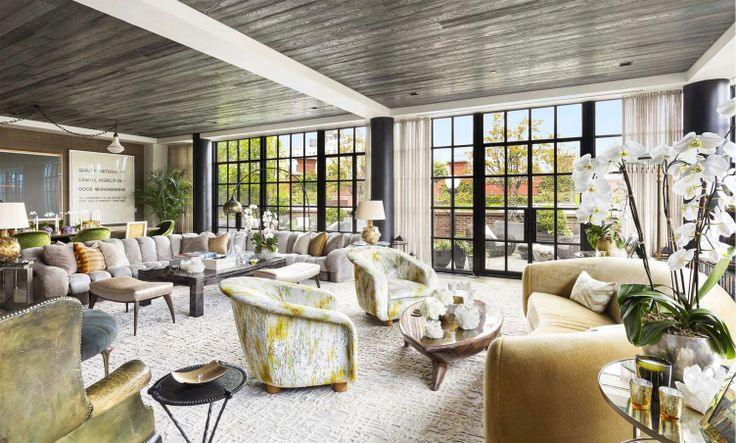 All images of The Puck Penthouses via Corcoran