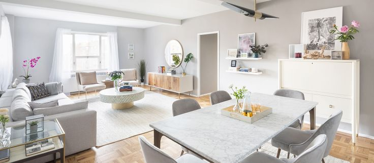 Interiors and amenities via StuyTown Property Services
