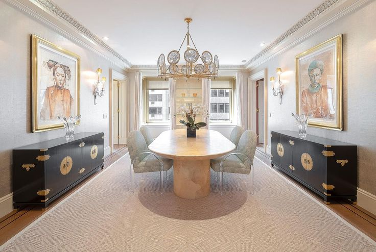 Find out why working with an agent representing both the buyer and seller is generally not a good idea. (Image of estate sale listing at Ritz Tower, #10CD via Douglas Elliman)