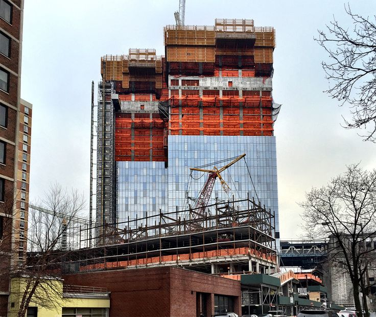 One Manhattna Square from Cherry Street; CityRealty