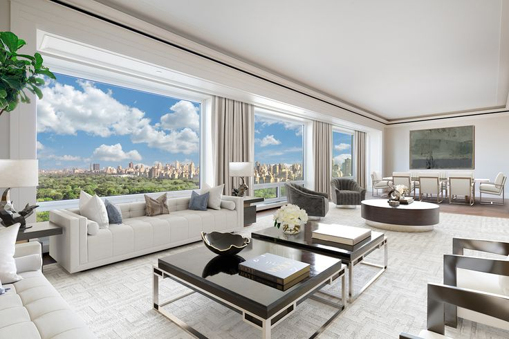 220 Central Park South, #31A is available for $36 million  (Corcoran)
