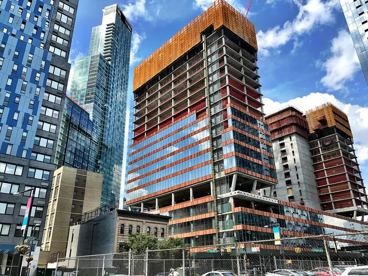Progress on The JACX as of early August 2018 (CityRealty)