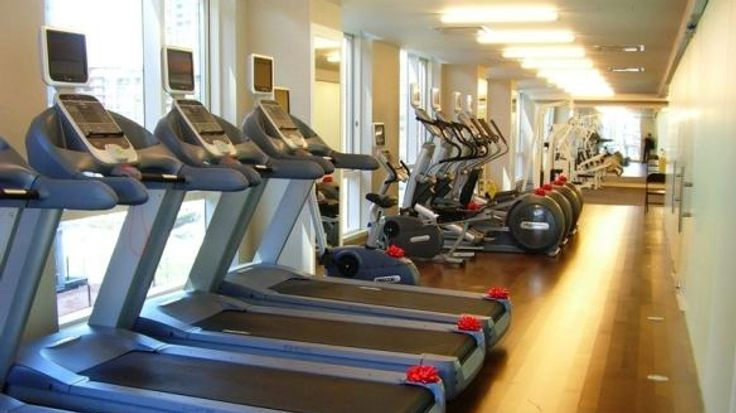Exercise Room, 200 Chambers Street, Condo, Manhattan, NYC