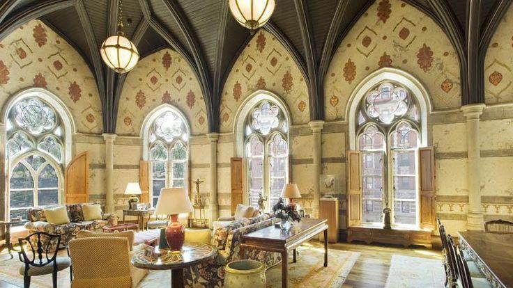 Living Room, 455 Central Park West, Condo, Manhattan, NYC