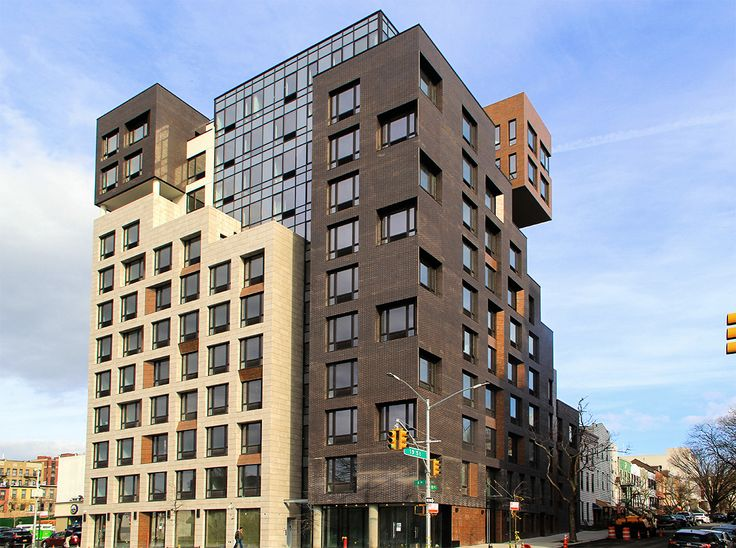ND Architecture designed The Alexey, a new rental in South Slope (Photo credit: CityRealty)