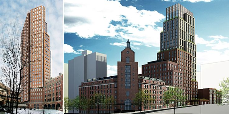 Renderings via Jack L. Gordon Architects (JLGA) and Morningside Heights Historic District Committee