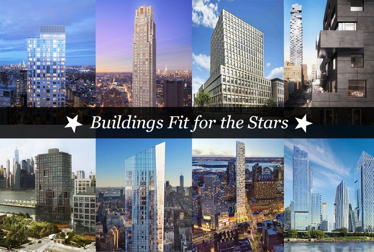 Picks include celebrity favorites like 30 Park Place, 257 East 57th Street, and D'Orsay.